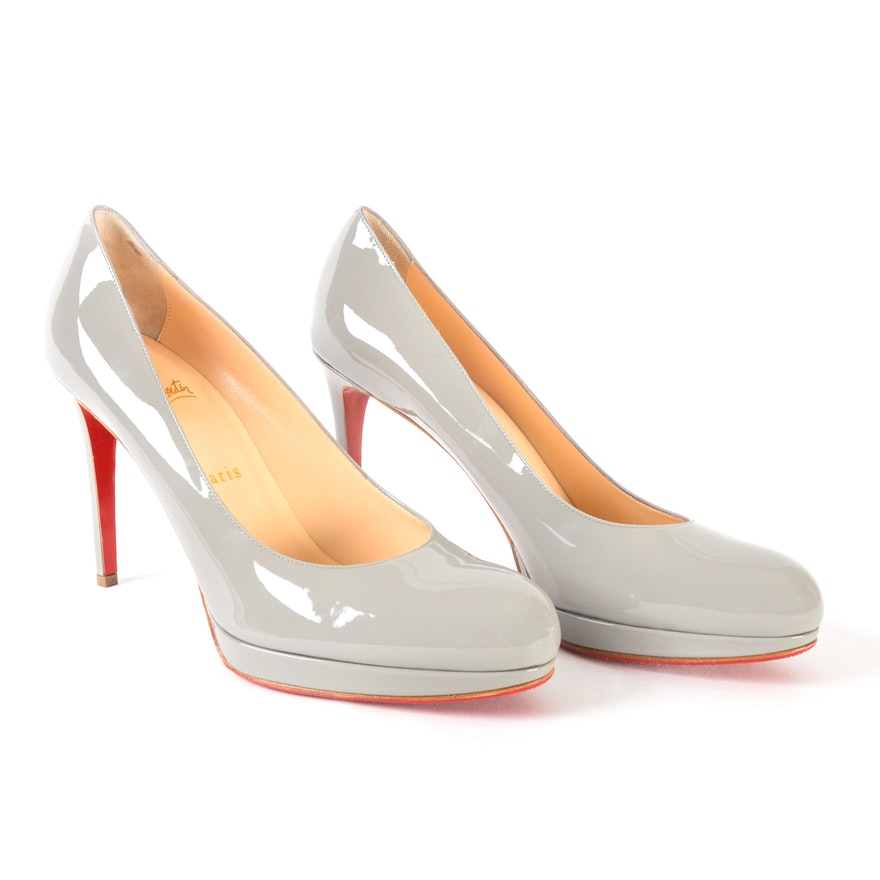 new style afa36 146eb Christian Louboutin New Simple Pump 100