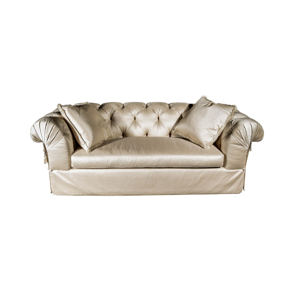 Large Cream Sofa With A. Rudin Custom Upholstery ...  sc 1 st  Everything But The House : a rudin chair - Cheerinfomania.Com