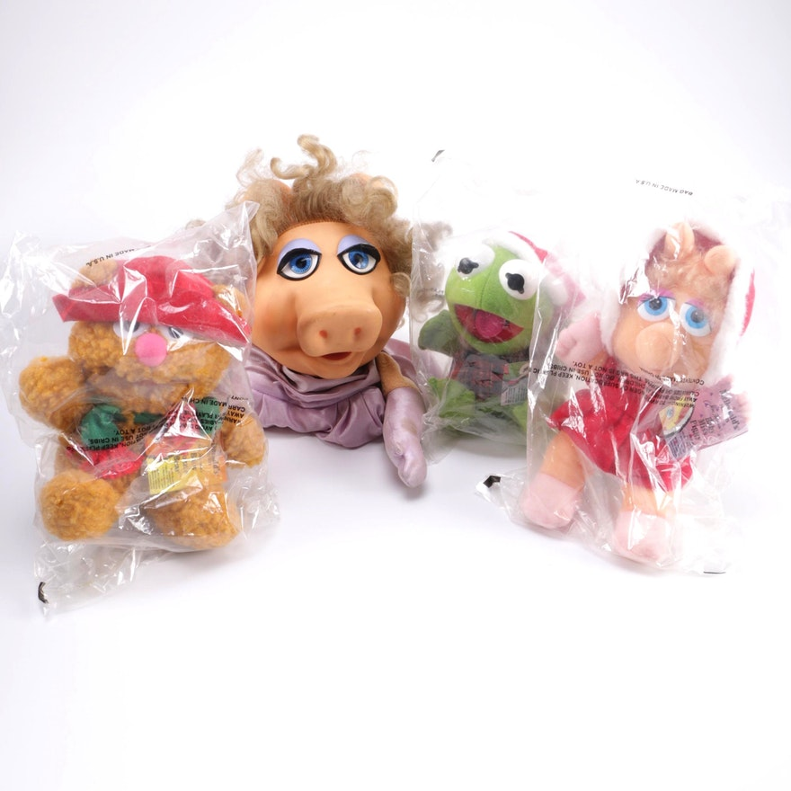 1988 McDonald s Muppet Babies Christmas Plush Toys   EBTH 3d5822711105