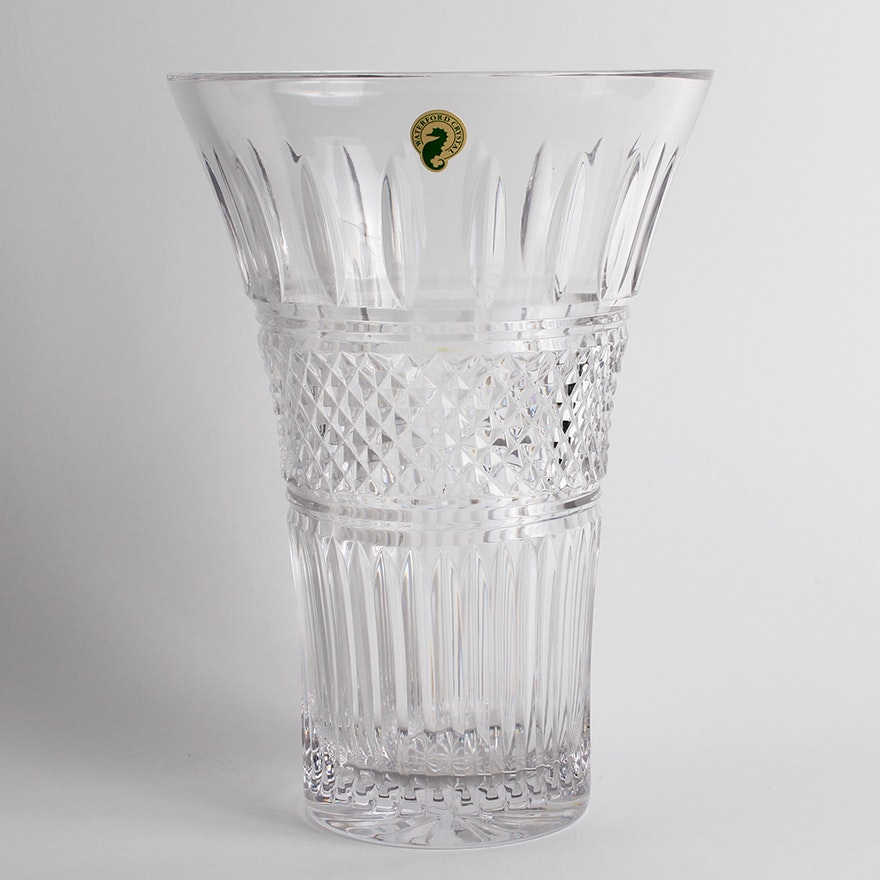 Waterford Crystal Irish Lace 10 Vase Ebth