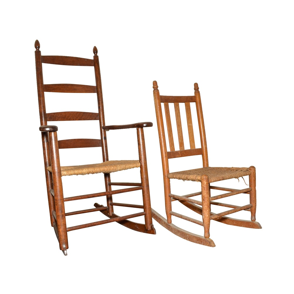 Vintage Rocking Chairs Featuring Paine Furniture Company ...