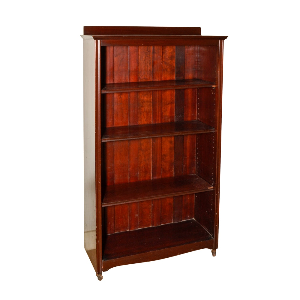 Vintage Mahogany Bookcase By Paine Furniture Company ...