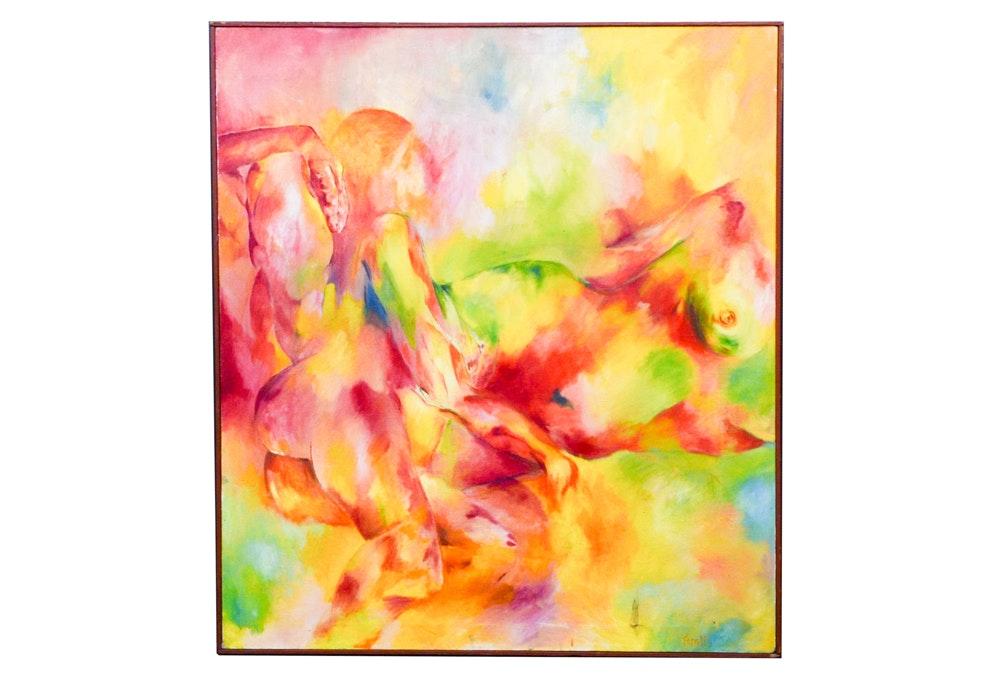 Tarallo Abstract Oil Painting