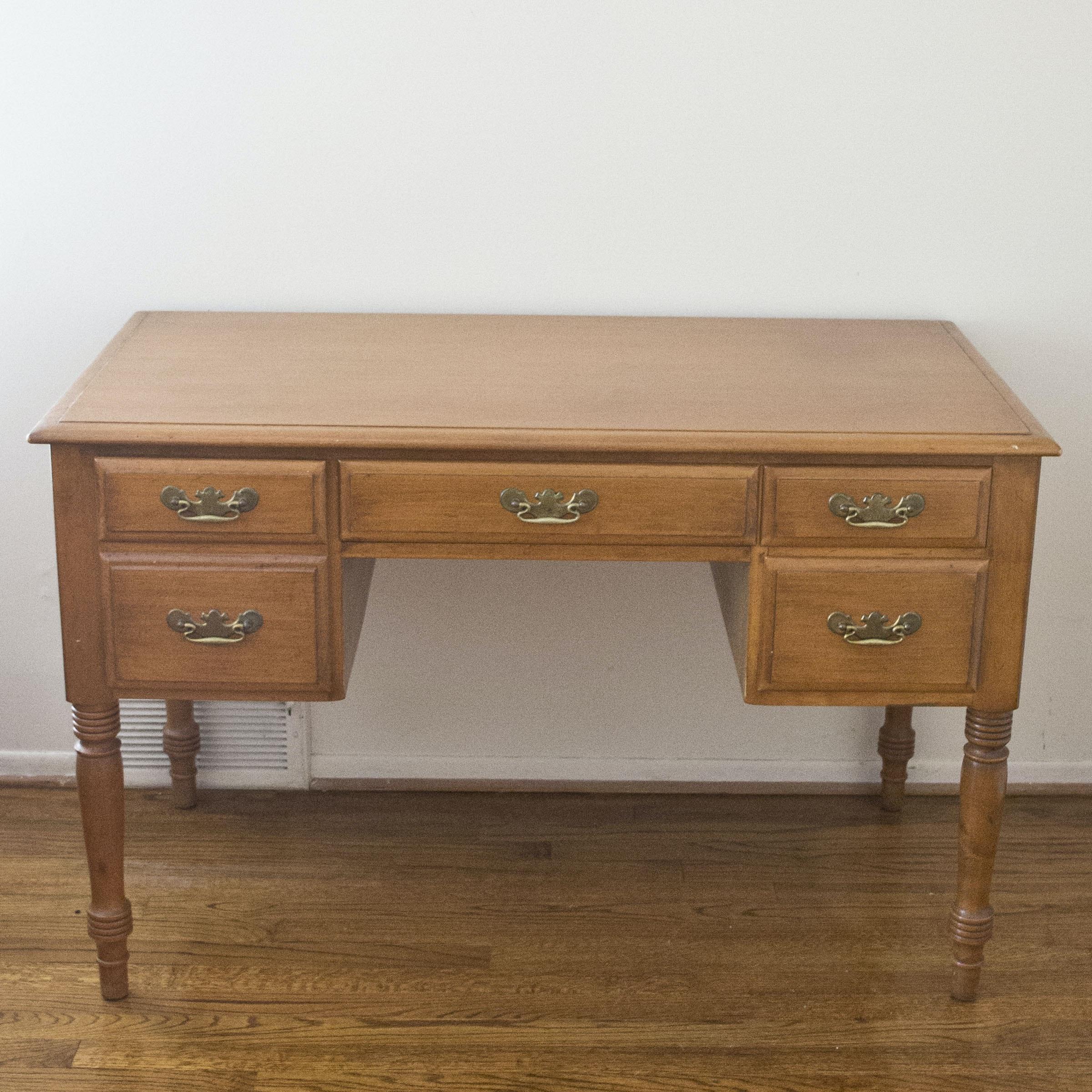 """No. 12 Ancestor"" Reproduction Maple Desk by Conant Ball"