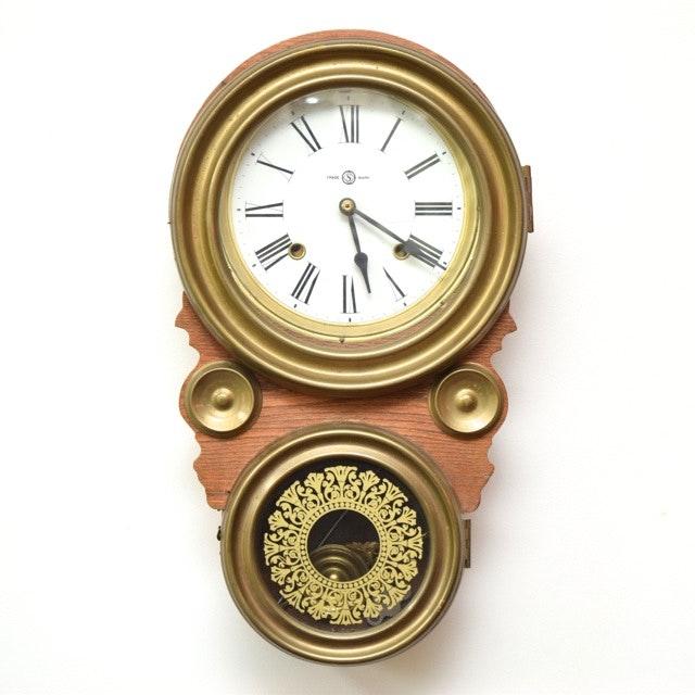 seikosha antique pendulum wall clock - Pendulum Wall Clock