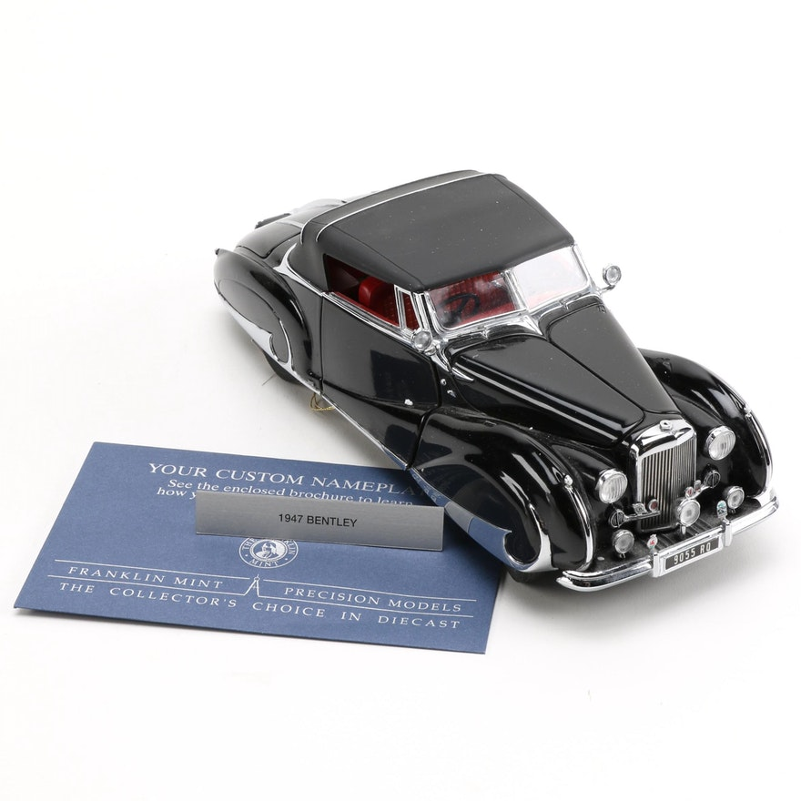 Franklin Mint 1947 Bentley Mark VI