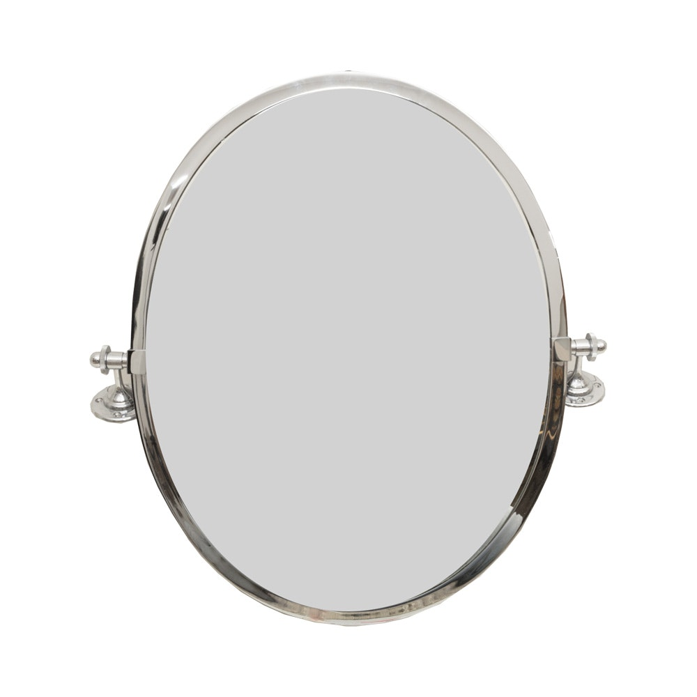 "Pottery Barn ""Kensington"" Oval Mirror"