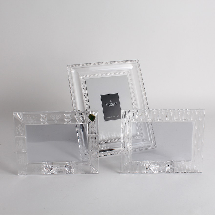 Waterford Crystal Picture Frames Ebth