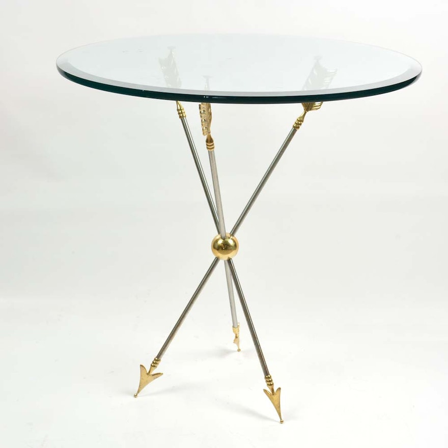 Triple Arrow Accent Table