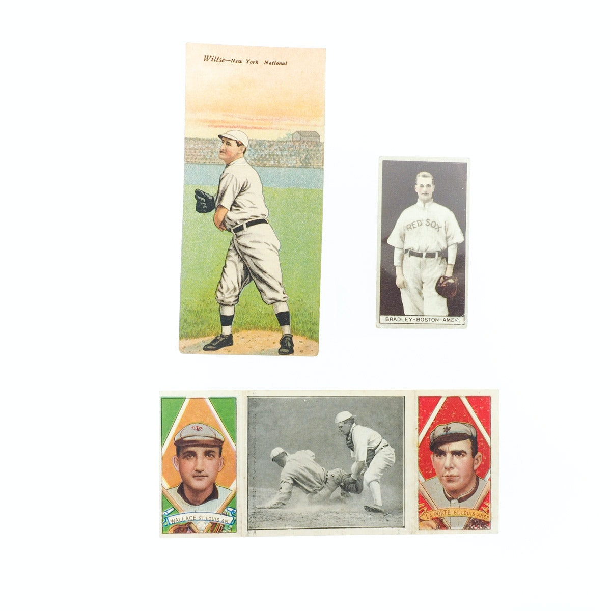"""""""A Close Play at Home Plate"""" and Other Early 20th Century Baseball Cards"""