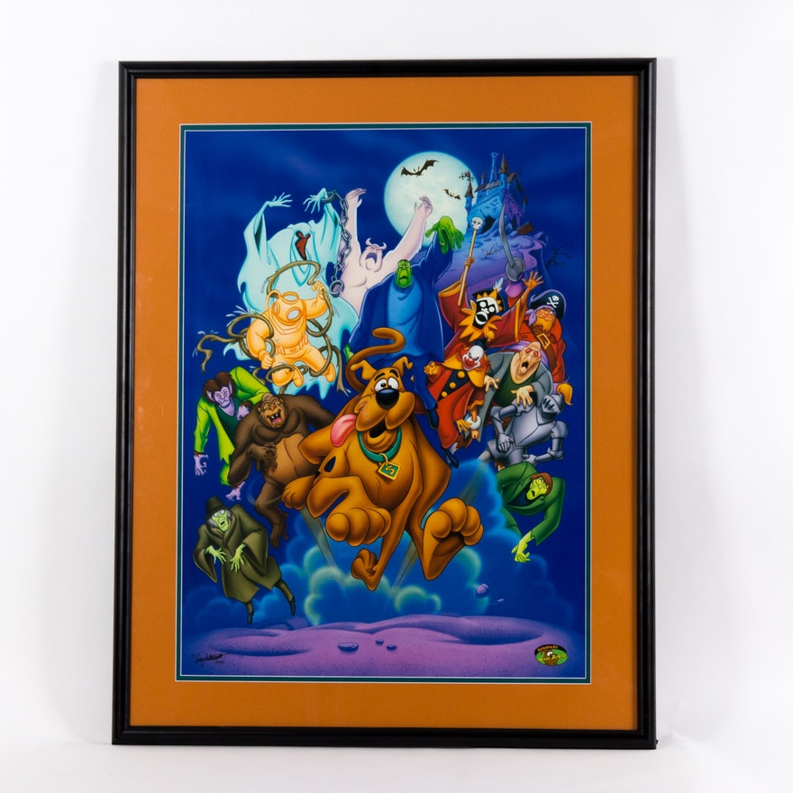 Scooby Doo Offset Lithograph Ebth