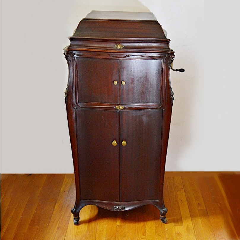 Premier Auto Group >> 1916 Mahogany VV-XVII Victor Victrola Phonograph and Records : EBTH