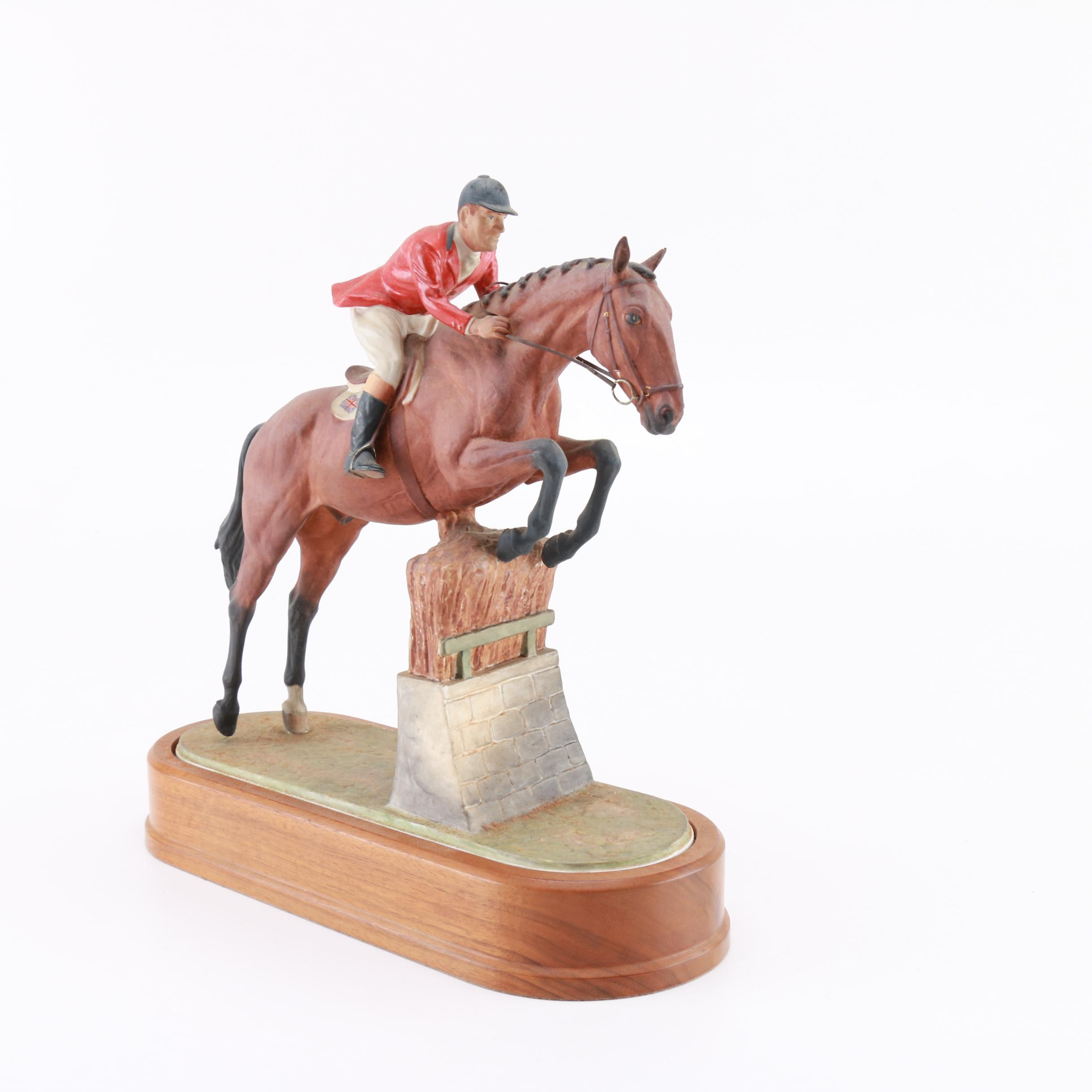 """Limited Edition Royal Worcester """"Fox Hunter"""""""