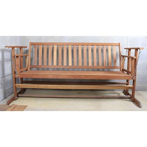 Outdoor Swinging Bench