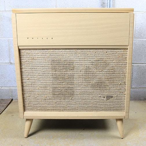 Mid-Century Philco Record Console