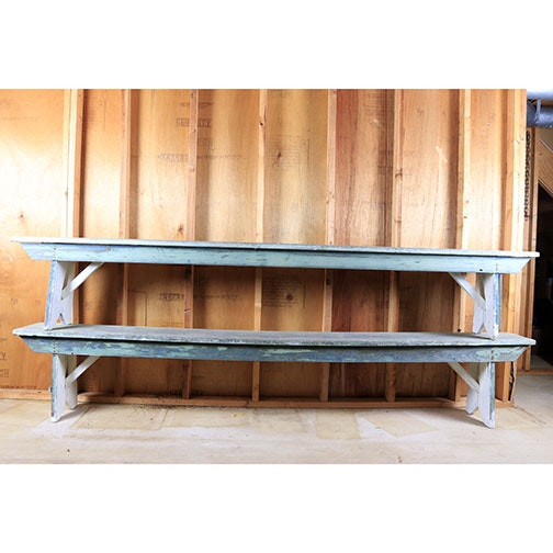 Primitive Style Outdoor Benches