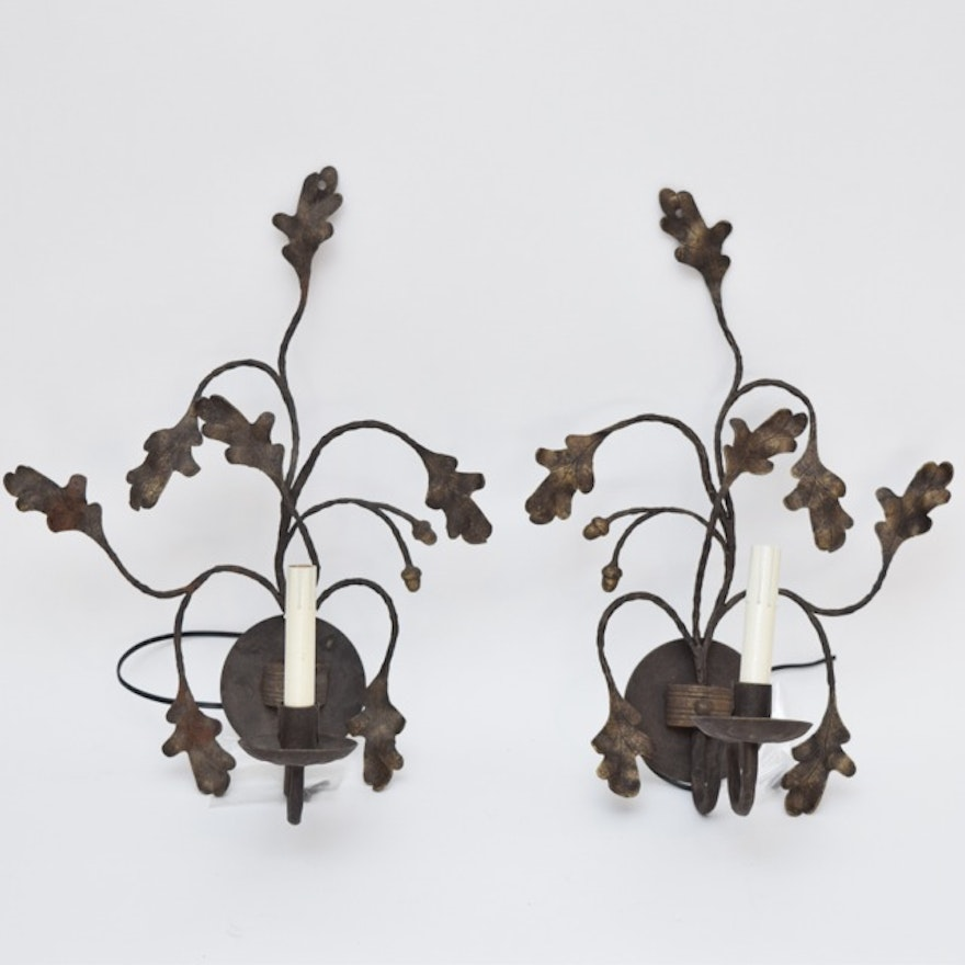 Hand Forged Ironware International Light Sconces