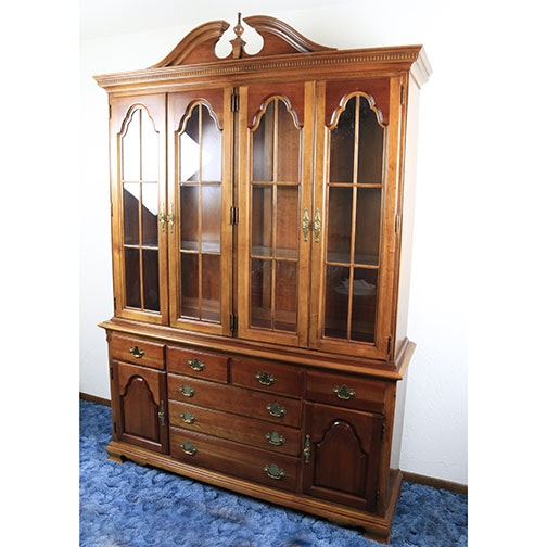 """American Craftsman Collection"" China Cabinet by Stanley"
