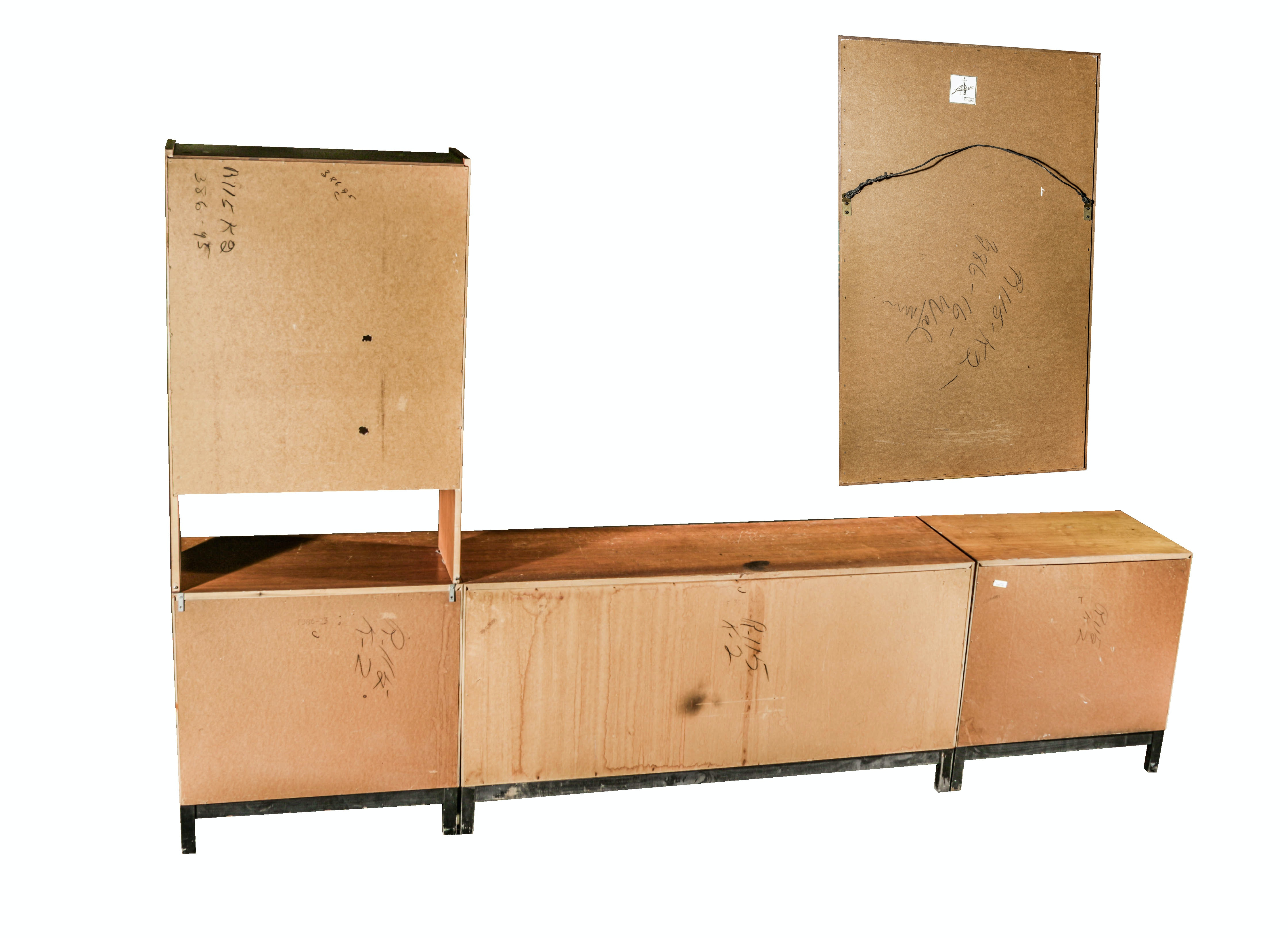 Mid Century Modern Style Oak Furniture Set By Kroehler Ebth
