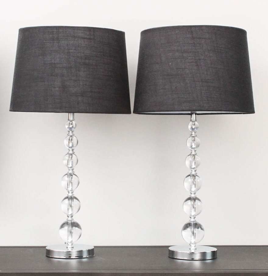 Acrylic bubble table lamps ebth acrylic bubble table lamps geotapseo Image collections