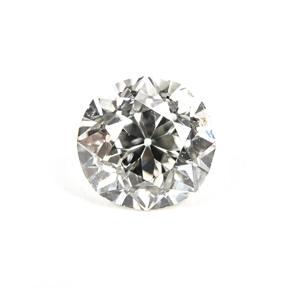 Loose 0.49 CT Round Cut Diamond