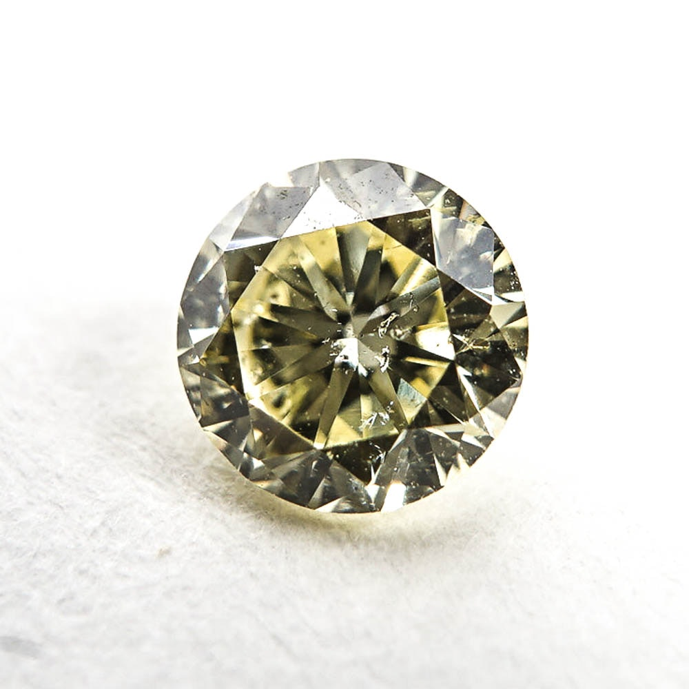 Loose Round Cut 0.46 CT Diamond