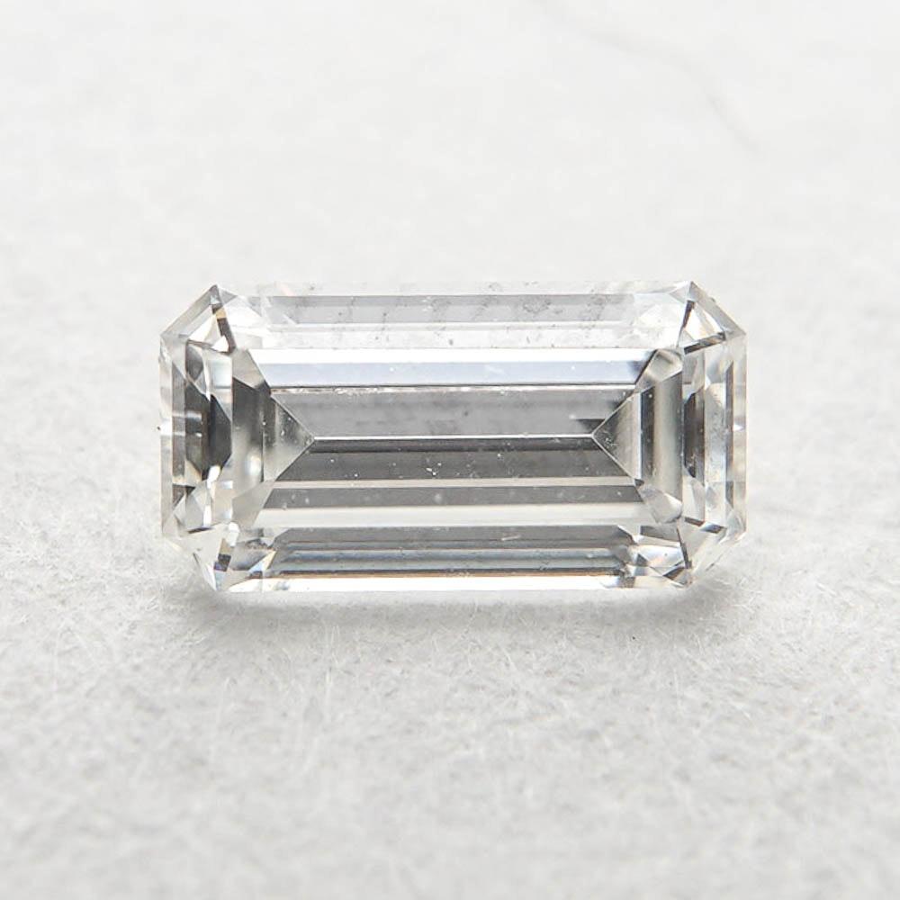 Loose 0.32 CT Emerald Cut Diamond