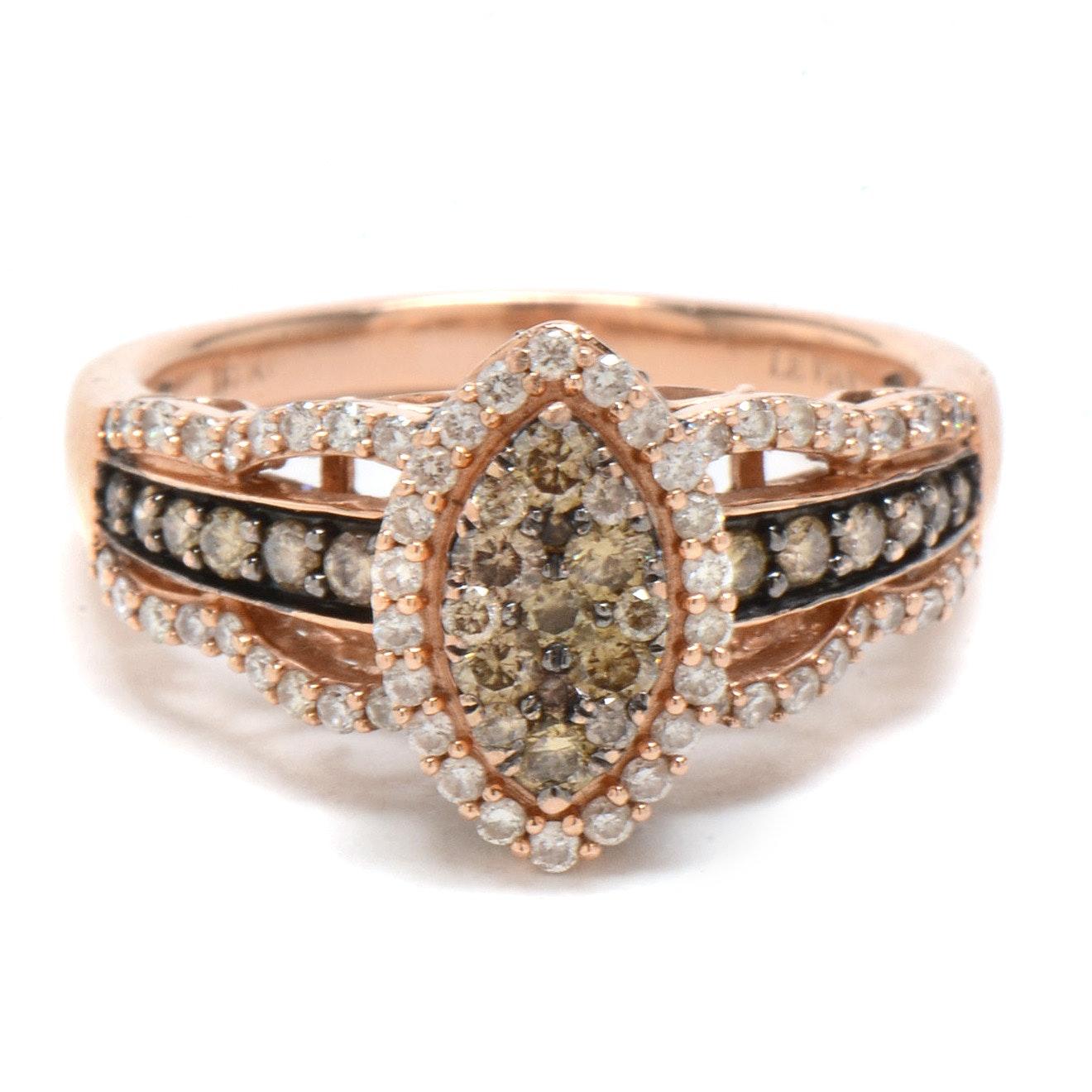 Le Vian 14K Rose Gold Chocolate Diamond Ring