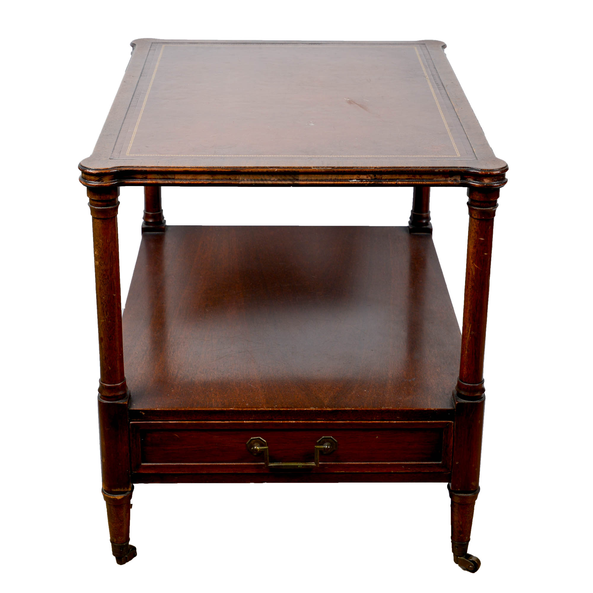 Vintage Regency Style Side Table by Heritage HenredonEBTH