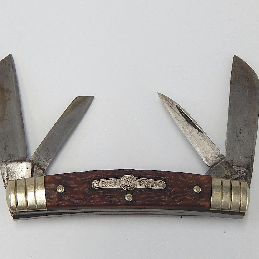tree brand boker germany 5464 four blade folding knife ebth