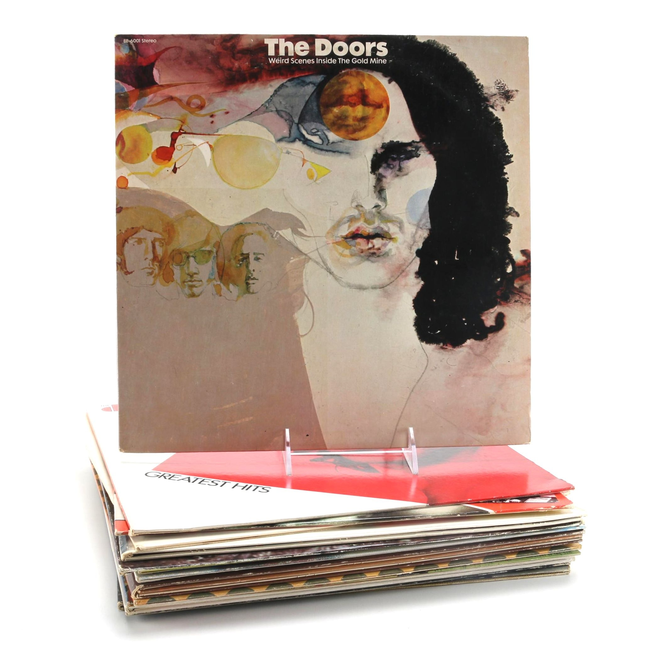 Doors, Clapton, Brian Eno, Who, Talking Heads and Other Rock LPs