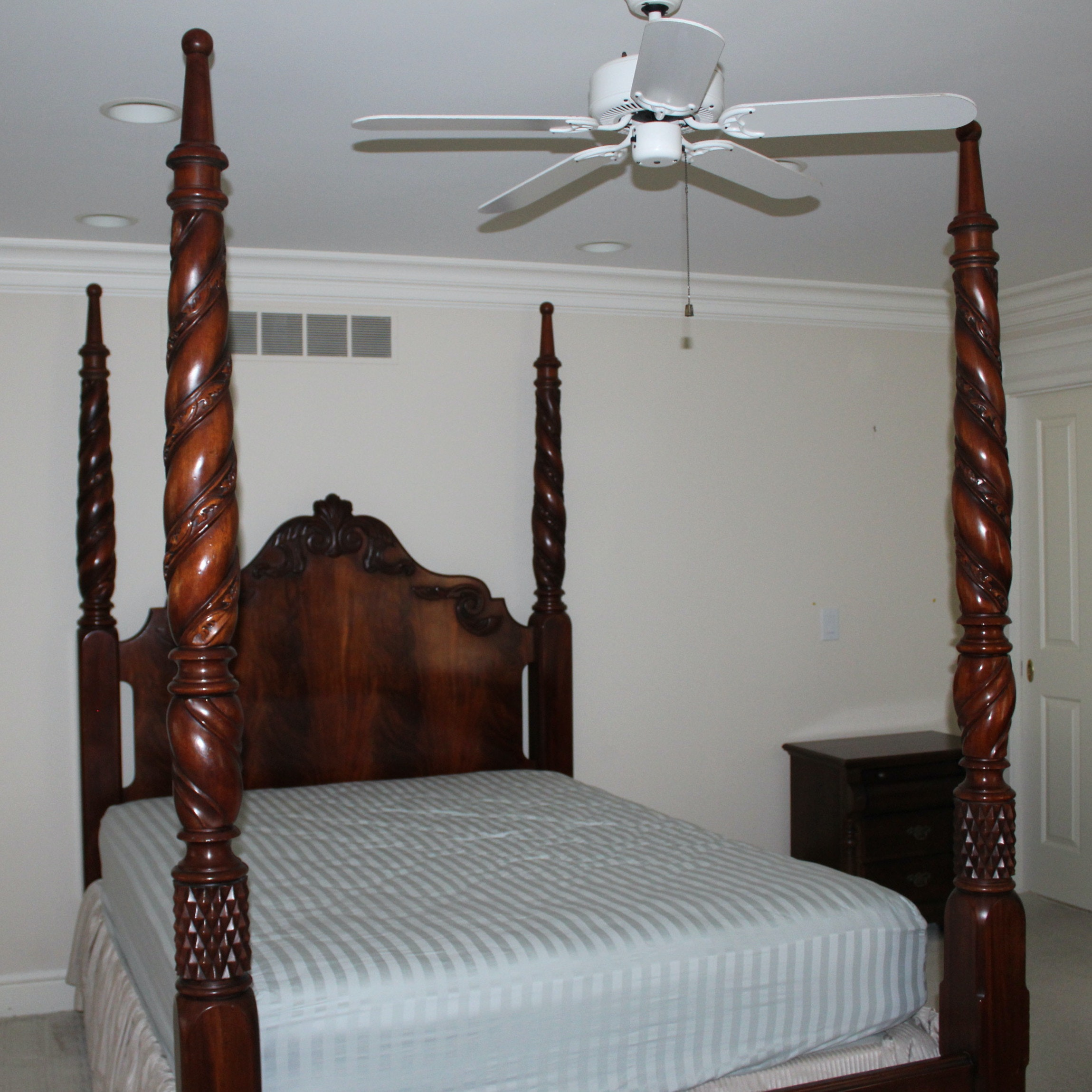 Opulent Four Post Queen Bed Frame