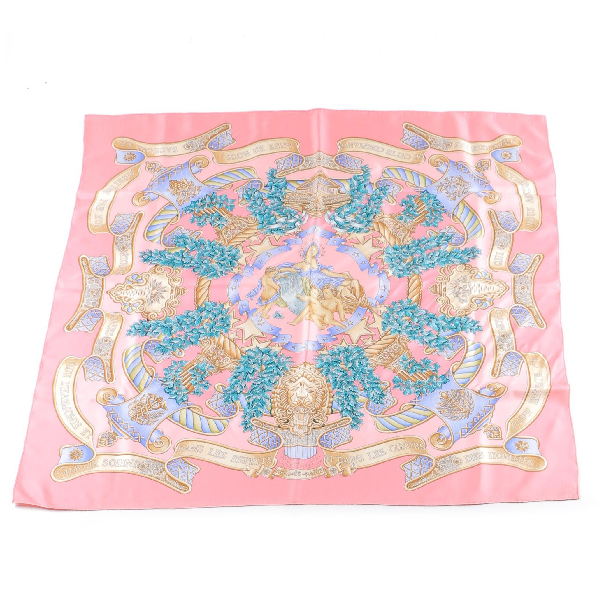 "Hermès ""Europe"" Silk Scarf"