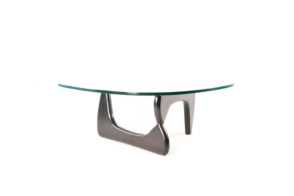 Mid Century Modern Glass Top Coffee Table EBTH