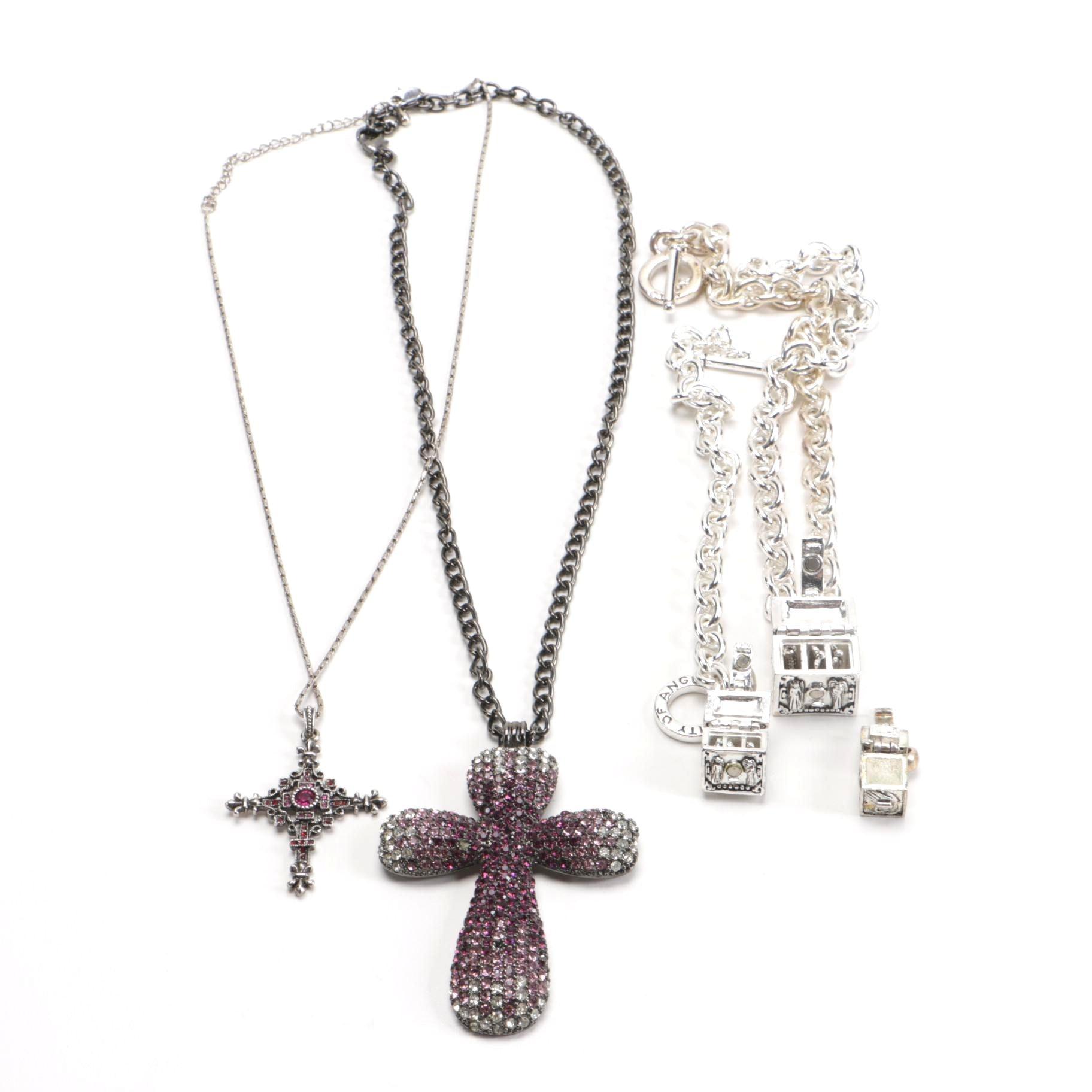 Religious-Inspired Costume Necklaces