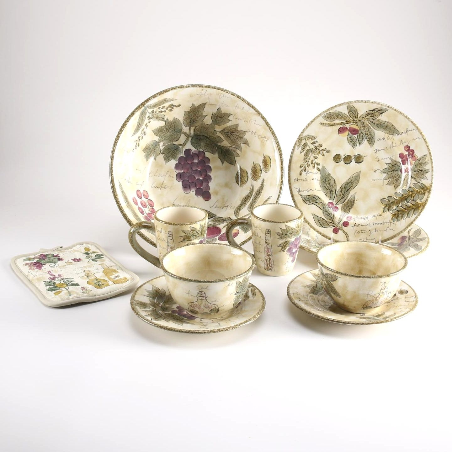 Collection of \ Sorrento\  Dinnerware ... & Collection of \