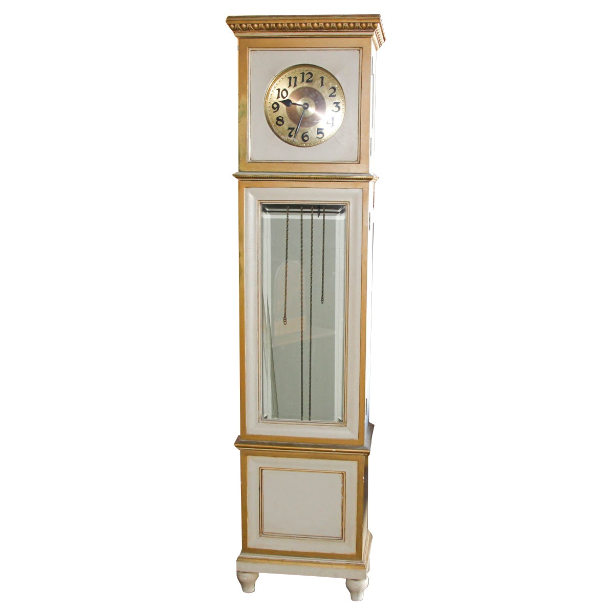 Gilt Accented German Grandfather Clock
