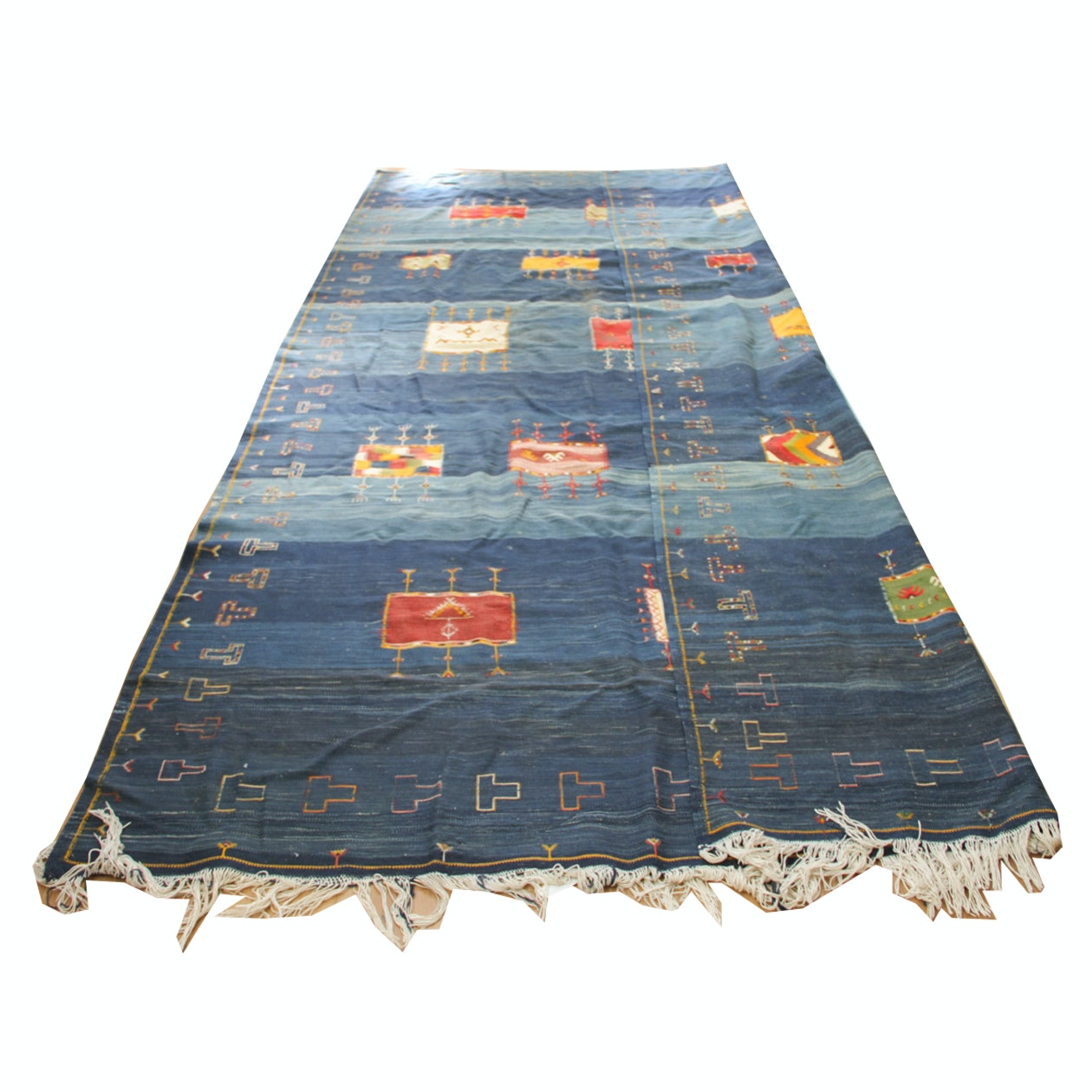 Handwoven Nomadic Anatolian or Turkish Area Rug