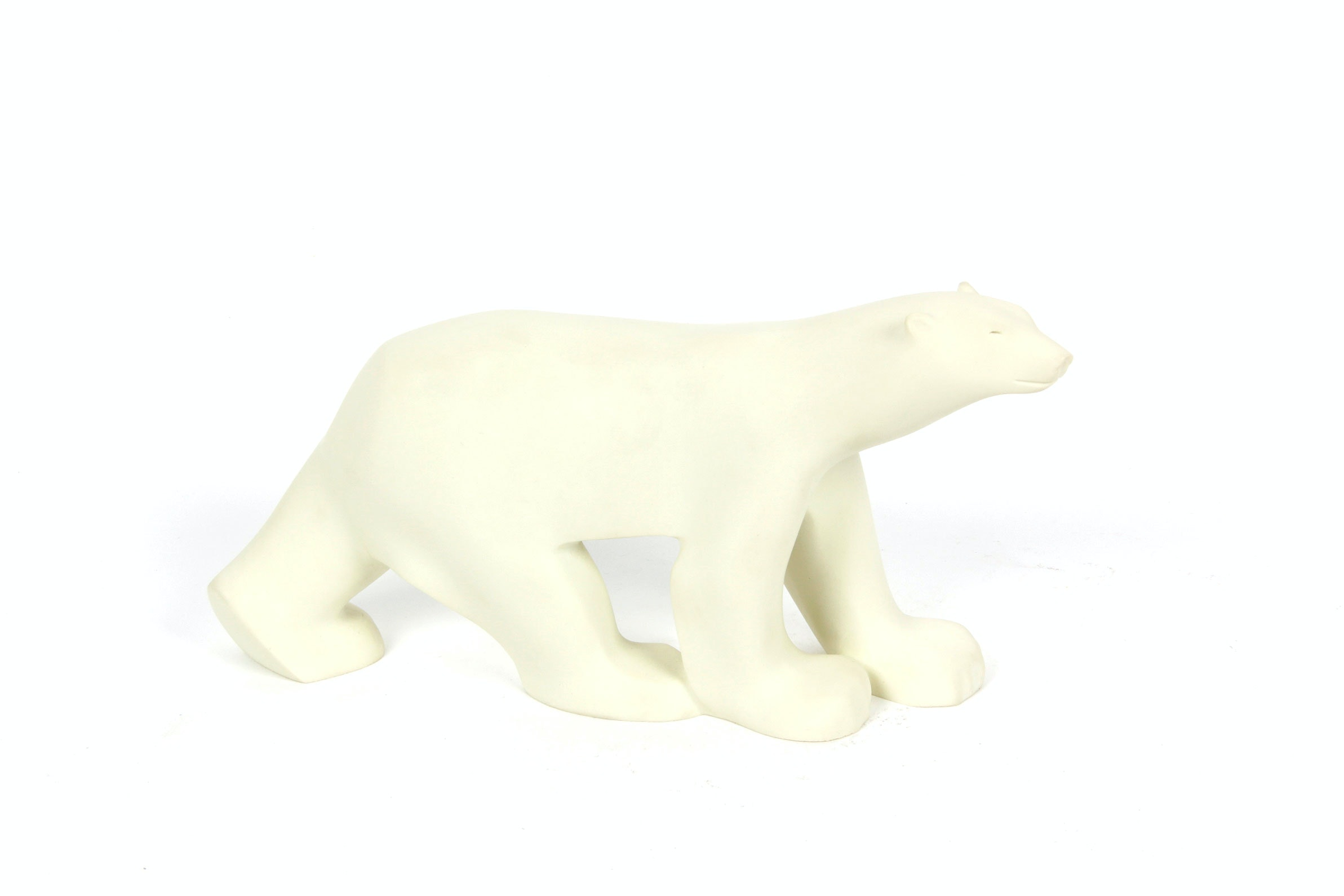 Francois Pompon Style Polar Bear Figurine by New York Metro Museum of Art