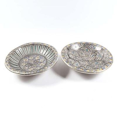 Ceramic and Aluminum Bowls