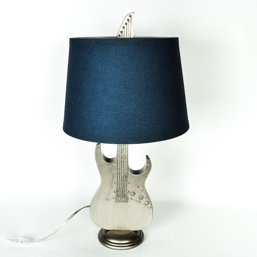Guitar shaped lamp from pb teen ebth guitar shaped lamp from pb teen aloadofball Gallery