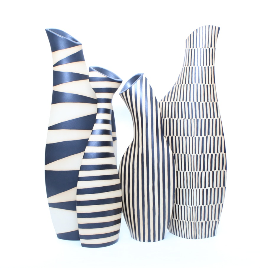 Collection of contemporary ceramic vases by keramik erlangen ebth collection of contemporary ceramic vases by keramik erlangen reviewsmspy