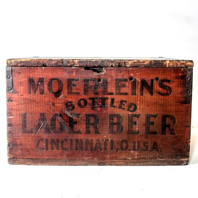 Rare Christian Moerlein Pre Prohibition 36 Bottle Crate