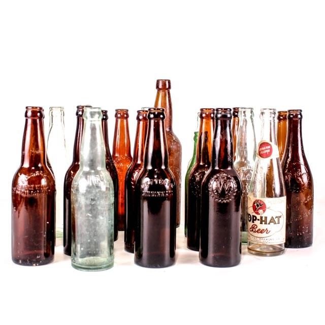 Cincinnati Brewing History Bottle Collection