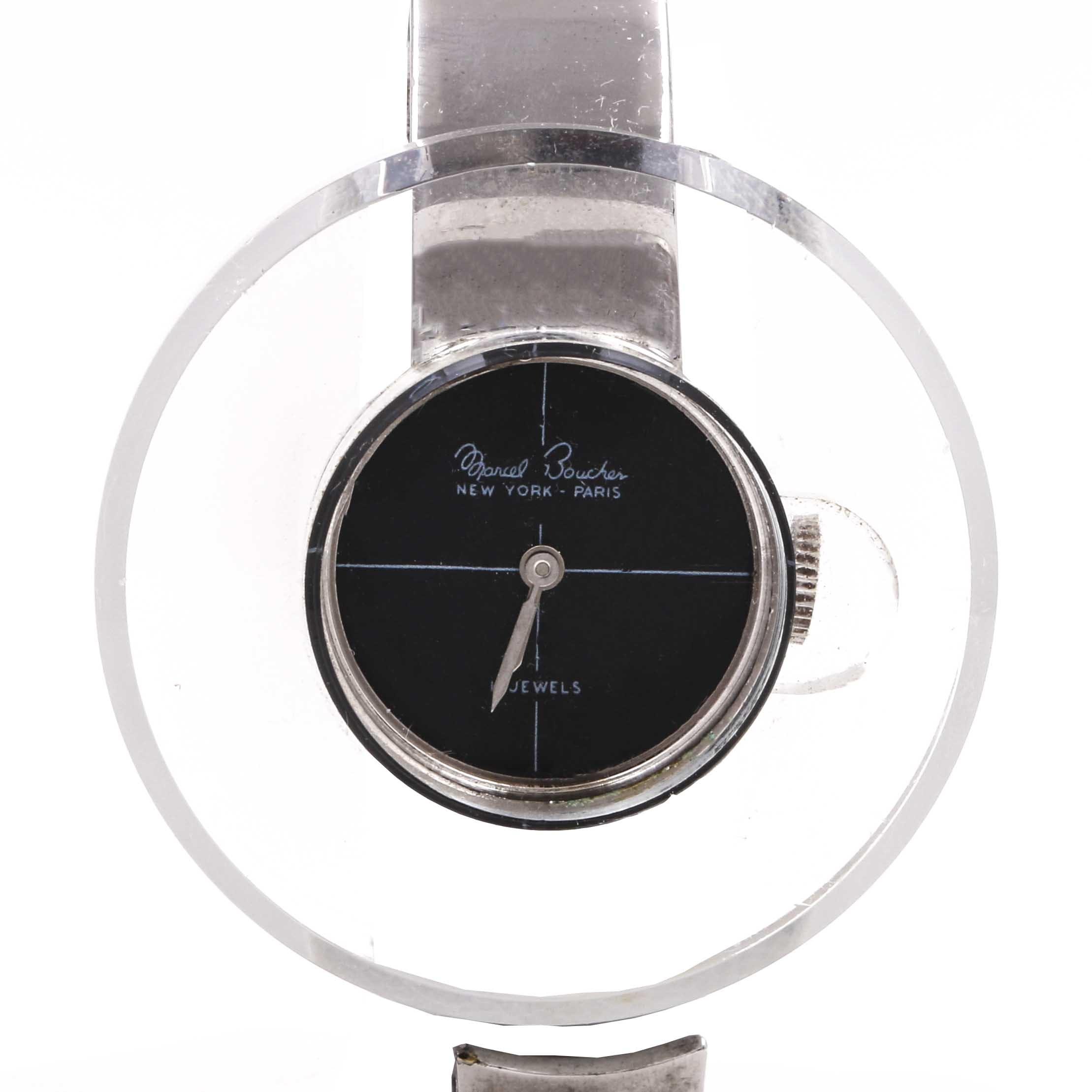 Marcel Boucher Hinged Wristwatch