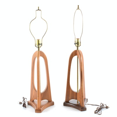 Pair Mid Century Modern Table Lamps