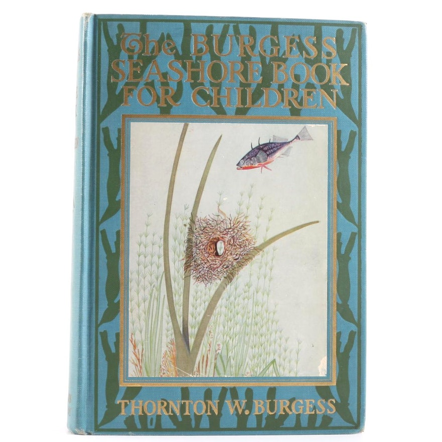 The Burgess Seashore Book For Children, Burgess, Thornton W.