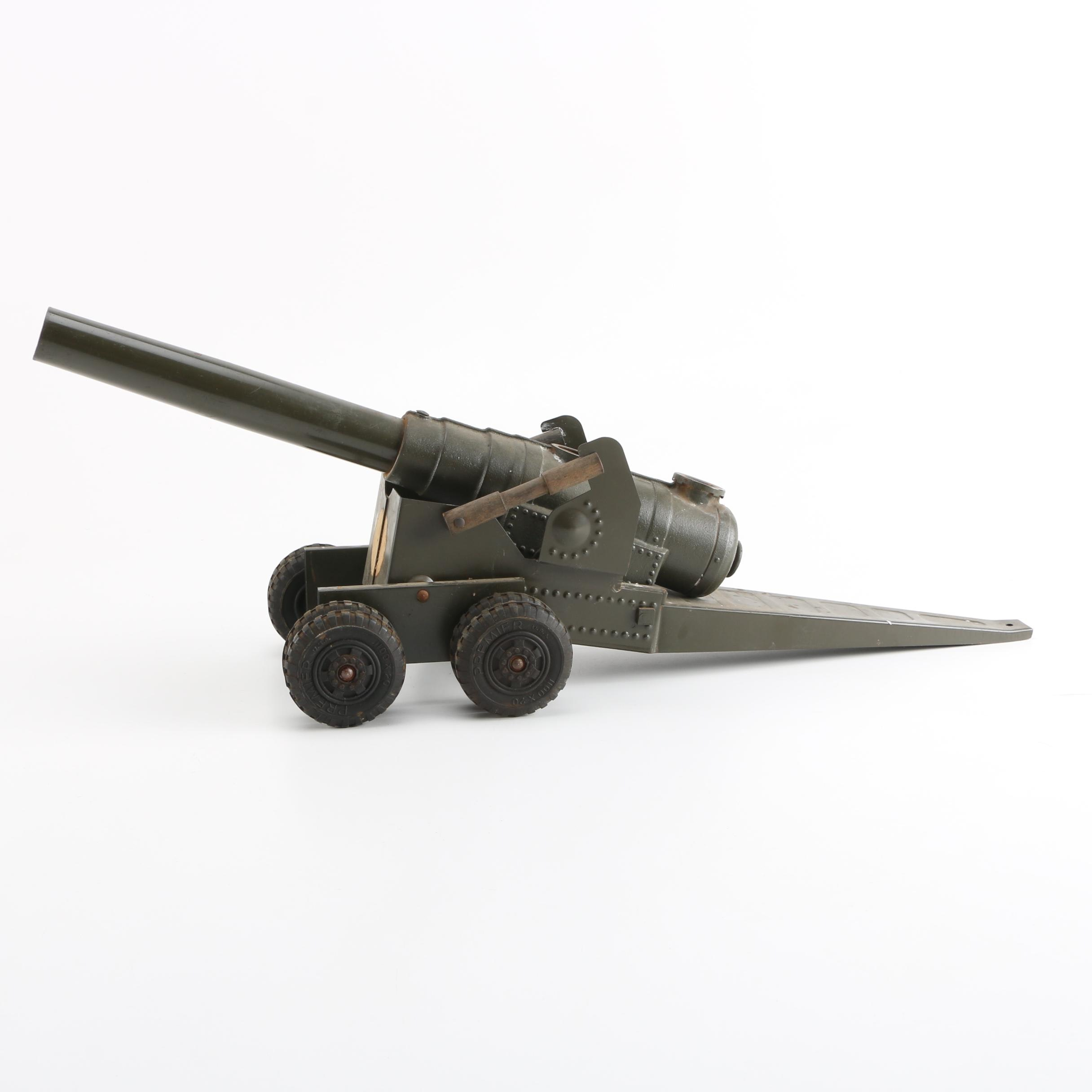 Miniature Metal Toy Cannon