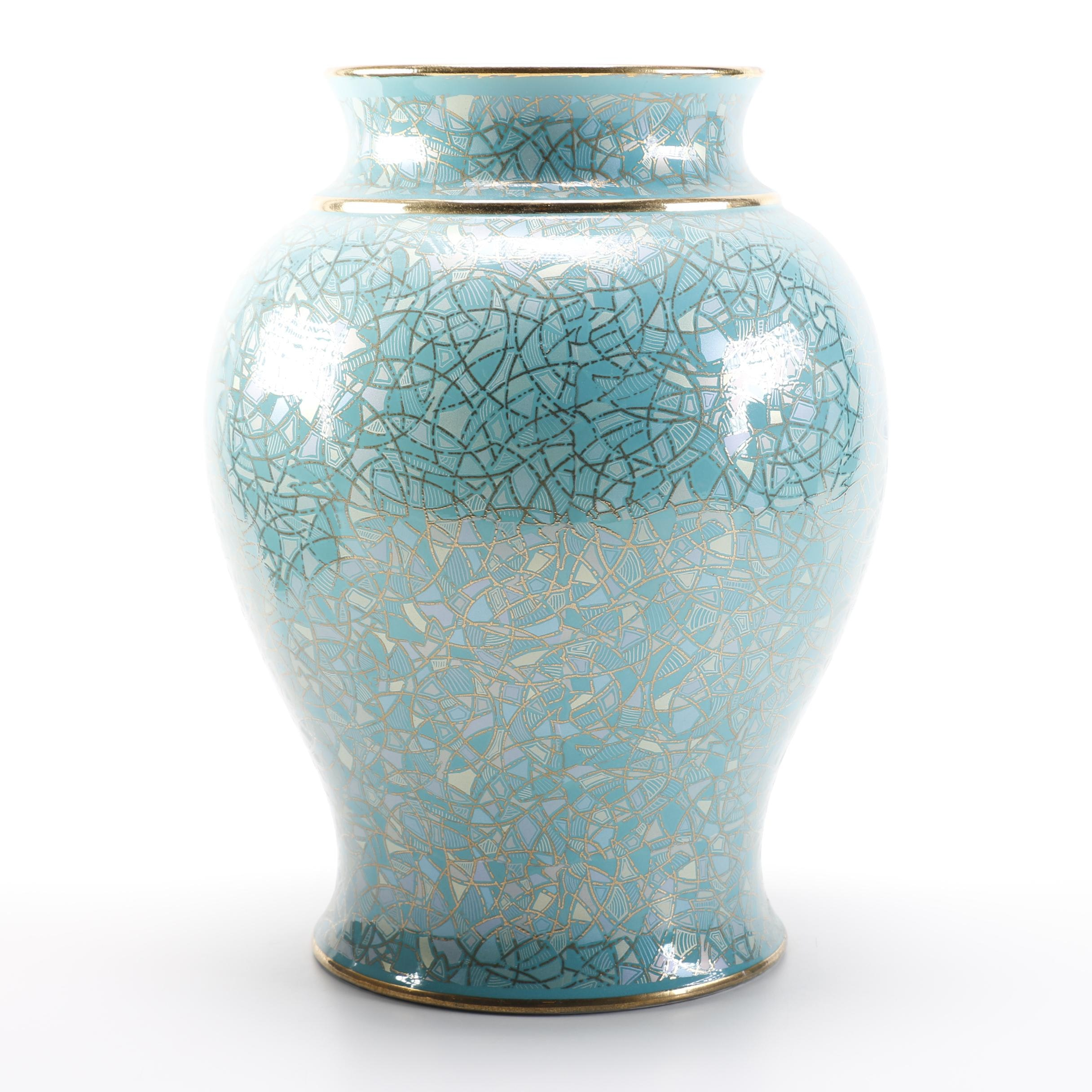 Large Italian Pottery Vase