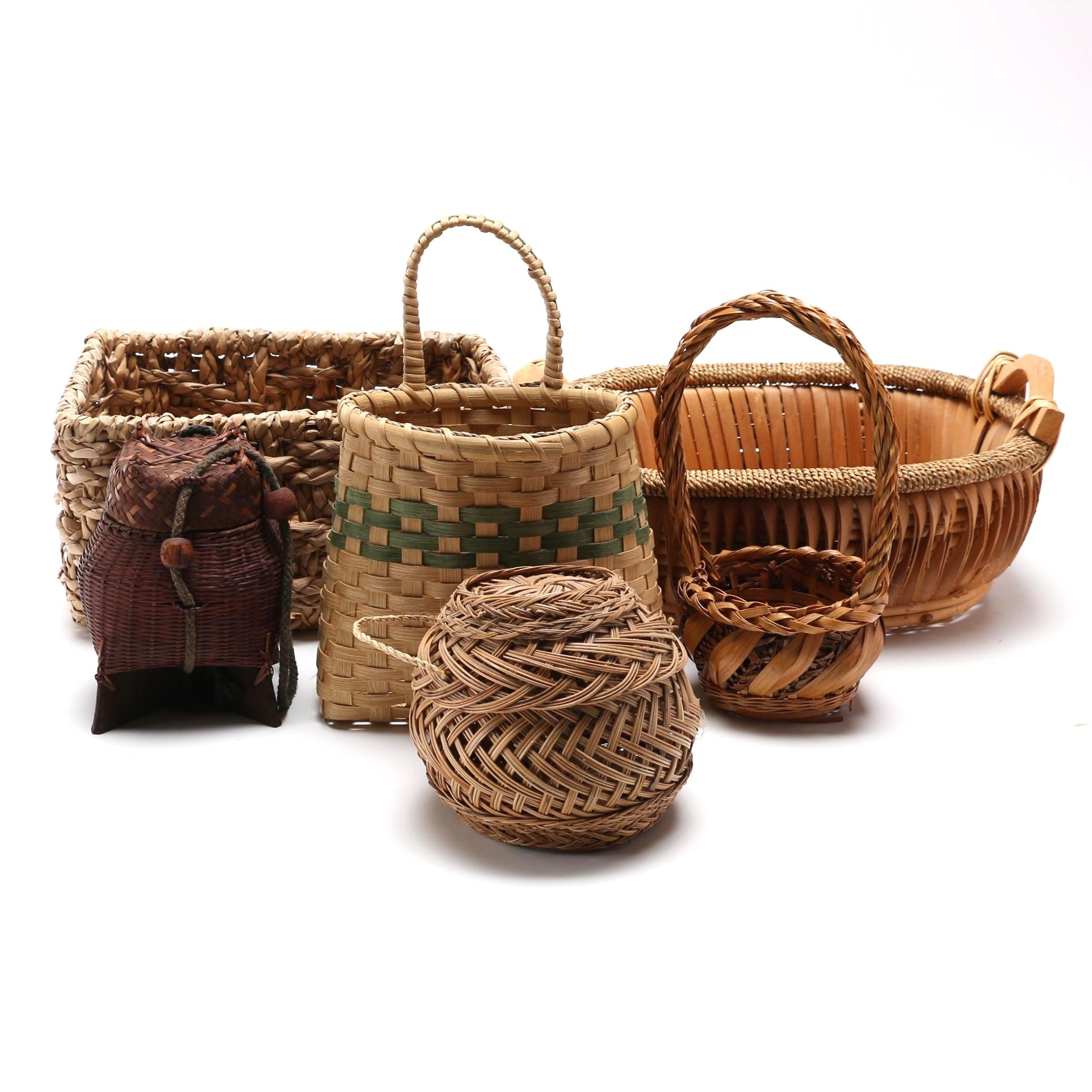 Assortment of Ornate Baskets